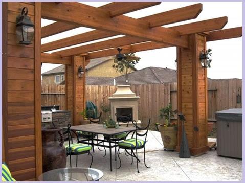 Construccion de terrazas quinchos pergolas cobertizos - Terrazas con pergolas ...