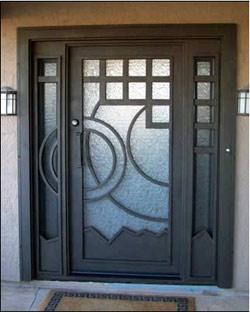 Puertas de protecci n protecci n para puertas for Puertas de metal para interiores